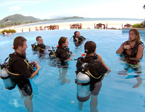 PADI SCUBA diving courses khao lak thailand